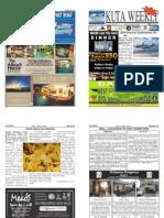 "Kuta Weekly-Edition 336 ""Bali's Premier Weekly Newspaper"""