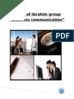 Study of Ibrahim Group of Companies