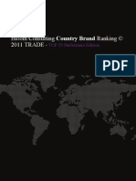Bloom Consulting Country Brand Raking Trade 2011