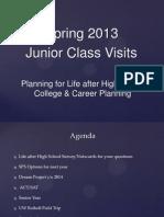 march junior class visit 2013