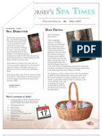 Gurney's Spa Times April 2009
