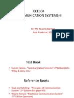 Communication Systems-II