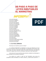 Analisis Paso a Paso de Las 22 Leyes Inmutables Del Marketing