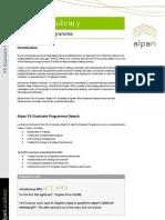 Alpari Academy-fx Graduate Programme