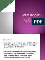 Kolik Abdomen_ppt Falah