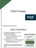 Lect11 12 Cuda Threads