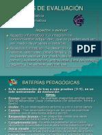 BATERIAS PEDAGOGICAS