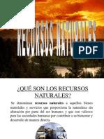 3 recursos naturales