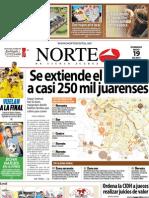 Periodico Norte de Ciudad Juárez 19 de Mayo de 2013