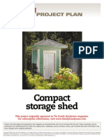 Compact Storage Shed - FH06JUN