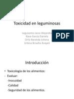 Toxicidad en Leguminosas