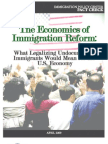 Economics of Comprehensive Immigratioin Reform