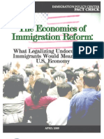 Economics of Comprehensive Immigratioin Reform