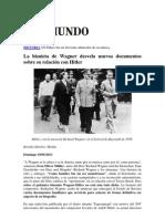 El compositor Wagner y su relación con Hitler