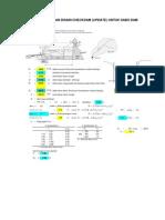 92201860 Desain Check Dam Btg Pagadih Nota Desain