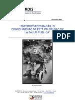 ENFERMEDADES RARAS EL CONOCIMIENTO DE ESTA PRIORIDAD DE LA SALUD PÚBLICA