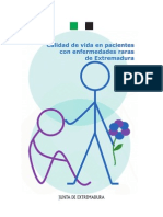 Calidad de Vida en Pacientes Con Enfermedad Rara - Extremadura
