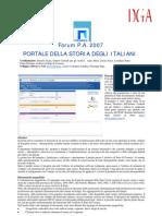 Portale Degli Archivi Di Stato (Scheda Informativa)