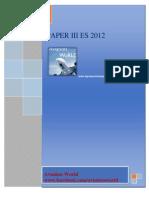 Es October 2012 Paper