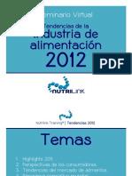 Nutrilink - Seminario Virtual Tendencias Industria Alimentos 2012