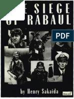 Sakaida Henry - The Siege of Rabaul - Japan Pacific War
