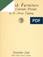 English Furniture of the Cabriole Period