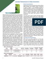 The Impact of Clock Generator Performance on Data Converters
