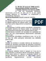 Hotarare Nr90_racordare La Retele