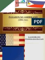 KABANATA 5 PANAHON NG AMERIKANO(1898-1941)