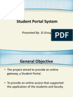 Student Portal System