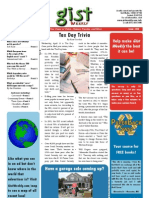 Gist Weekly Issue 20 - Tax Day Trivia