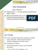 Kuliah Statistika (Non-parametrik)