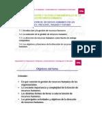 Tema 1 La Direccion de RRHH