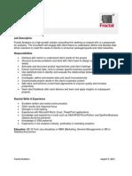 Analyst JD CPG Retail