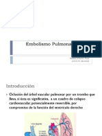 Embolismo Pulmonar Agudo