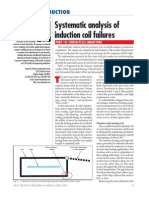 Systematic Analysis of Induction Coil Failures