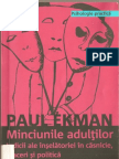 Minciunile Adultilor Paul Ekman