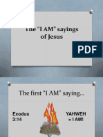 Presentation on the I Am Sayings of Jesus
