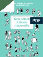 Guide Pratique Des Parents Ecole Maternelle 227359
