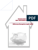 5-Tecnologie Efficienza Energetica Edifici