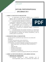 Reglamento de Participantes 2012