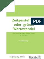 Wertewandel Sachsen Kurzfassung 1.6.12