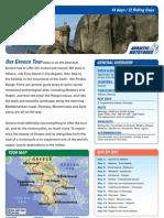 Greece Motorcycle Europe Tour