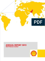 Shell Pak Financial Account 2012