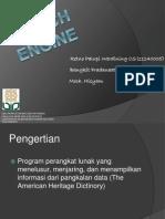 Presentasi Search Engine