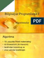 Bilgisayar Prog Algoritma