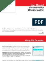BUFFALO MiniStation HD-PCU2 Manual Diskformatter