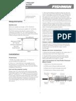 Prefix Premium Blend Preamp Installation Guide