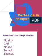 PARTEZ DE UNA COMPUTADORA