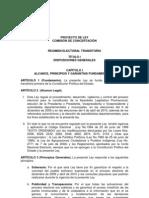 Ley de Regimen Electoral Transitorio 103